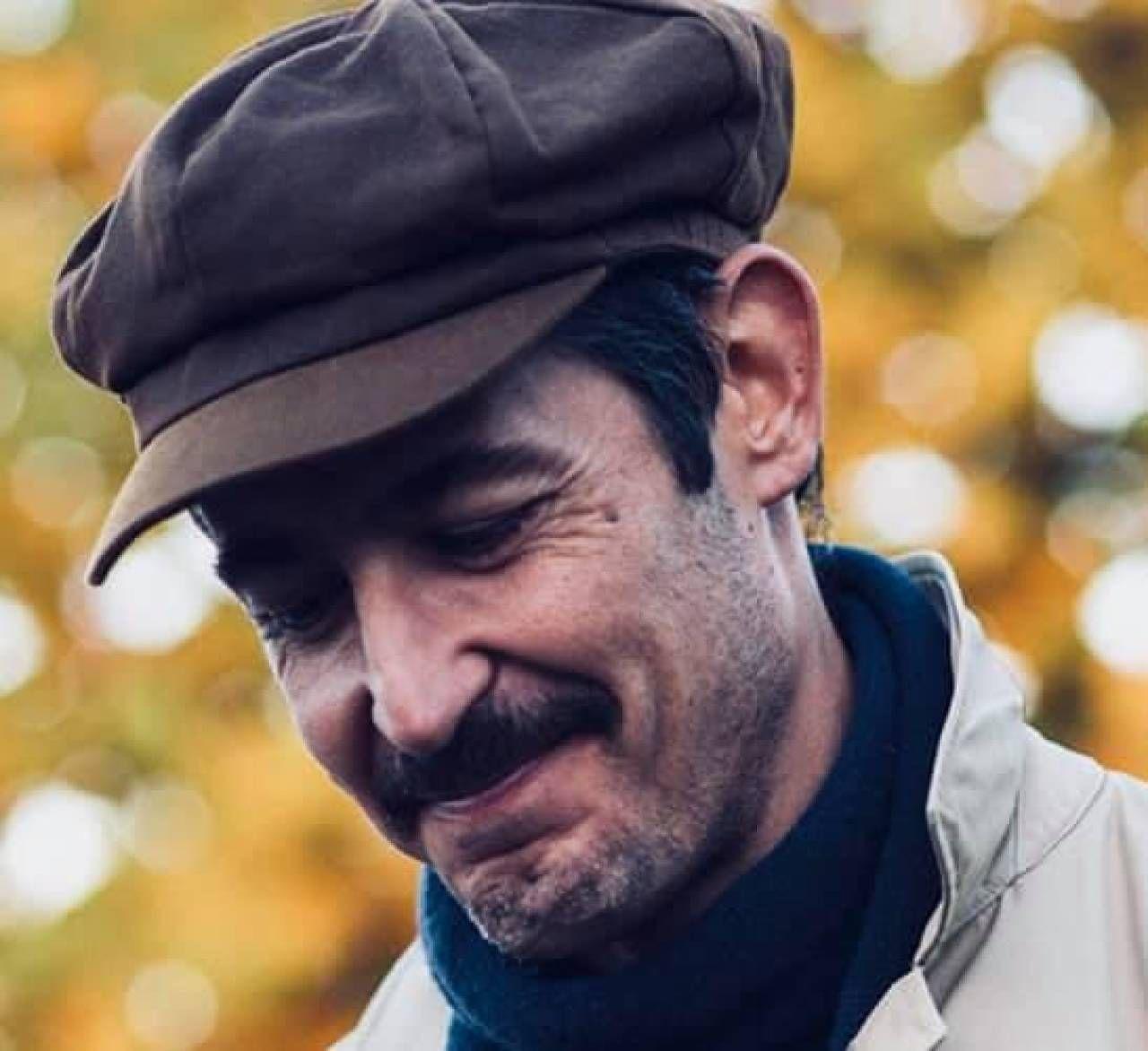 Il cantautore Francesco Bottai e, nella foto piccola, Fabrizio Bartelloni
