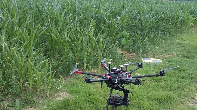 Il drone dell'Università di Pisa