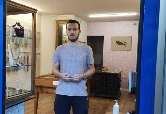 Luca Nana, gemmologo e disegnatore cad di. 29 anni