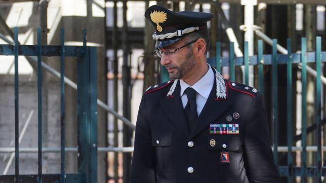 Un controllo dei carabinieri nelle aziende