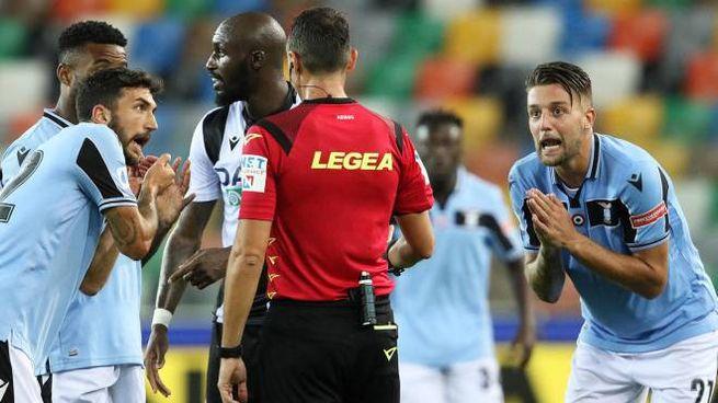 Udinese-Lazio 0-0 (Ansa)