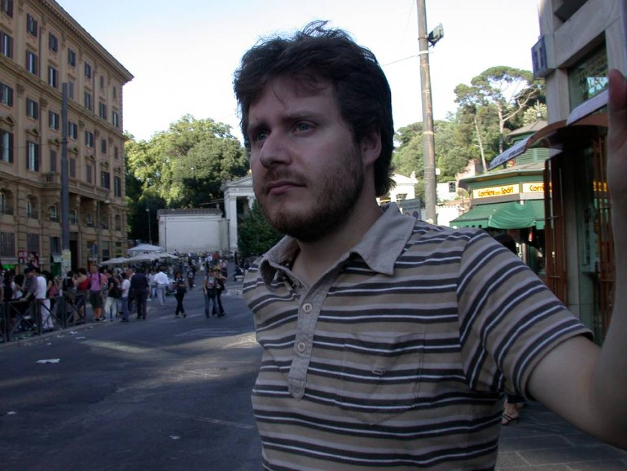 Mauro Pamiro, 44 anni, morto tra il 28 e il 29 giugno. Sotto, la bici bianca trovata al ci