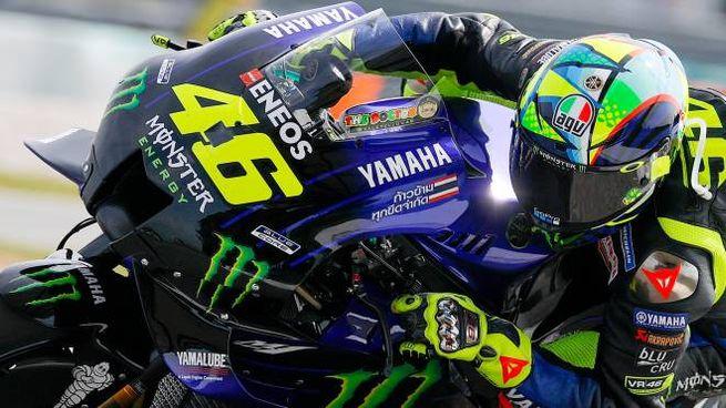 Valentino Rossi prossimo al Team Petronas (Ansa)