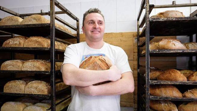 Matteo Calzolari dell'omonimo forno