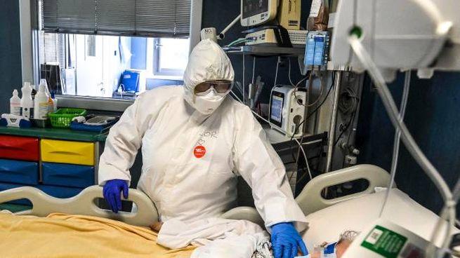 Coronavirus, ospedale Roma (Imagoeconomica)