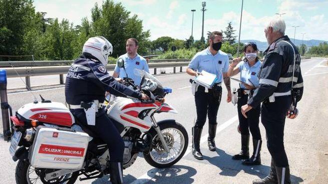 I rilievi sul luogo dell'incidente (New Press Photo)