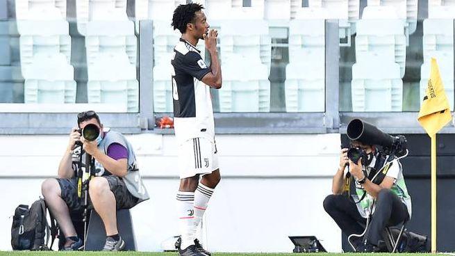 Juventus, Juan Cuadrado è un jolly per Sarri (Ansa)