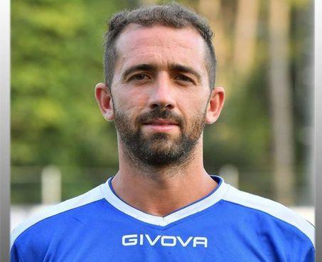 David Bonaventuri in maglia azzurra