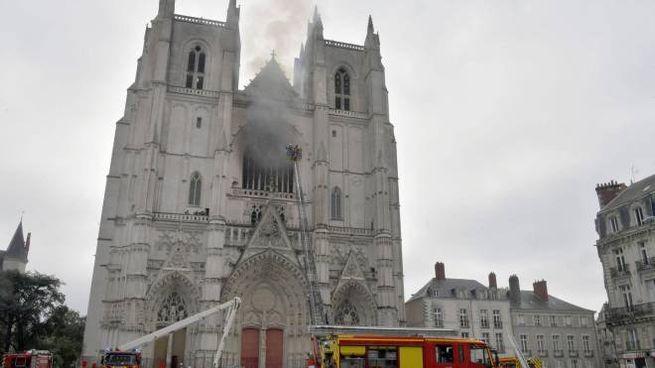 Cattedrale di Nantes (Ansa)