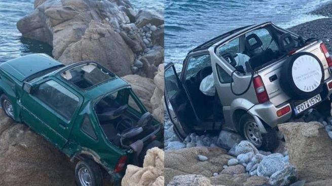 Le foto dell'incidente (foto dal sito www.mykonosvoice.gr)