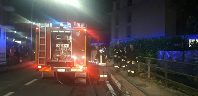Brûler la maison de repos, un mort et trois blessés
