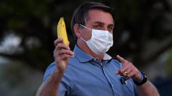 Il presidente del Brasile, Jair Bolsonaro (Ansa)