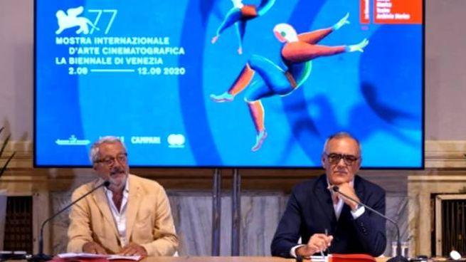 Roberto Cicutto e Alberto Barbera (Dire)