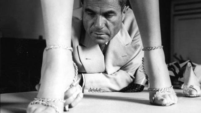 Salvatore Ferragamo (Archivio foto Locchi)