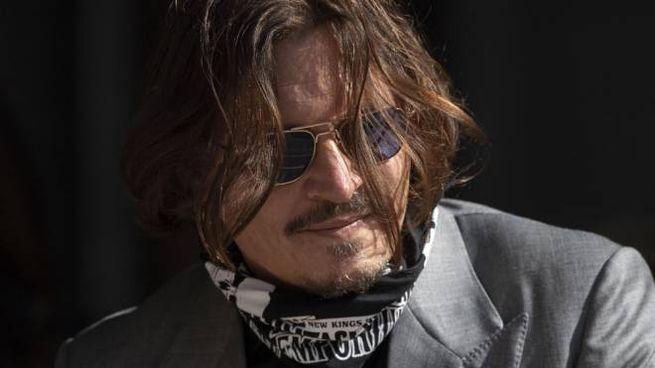 Johnny Depp arriva alla Royal Courts of Justice di Londra, il 28 luglio 2020