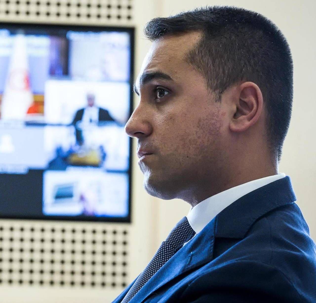 Luigi Di Maio, 34 anni, ministro degli Esteri ed ex capo politico del Movimento 5 Stelle