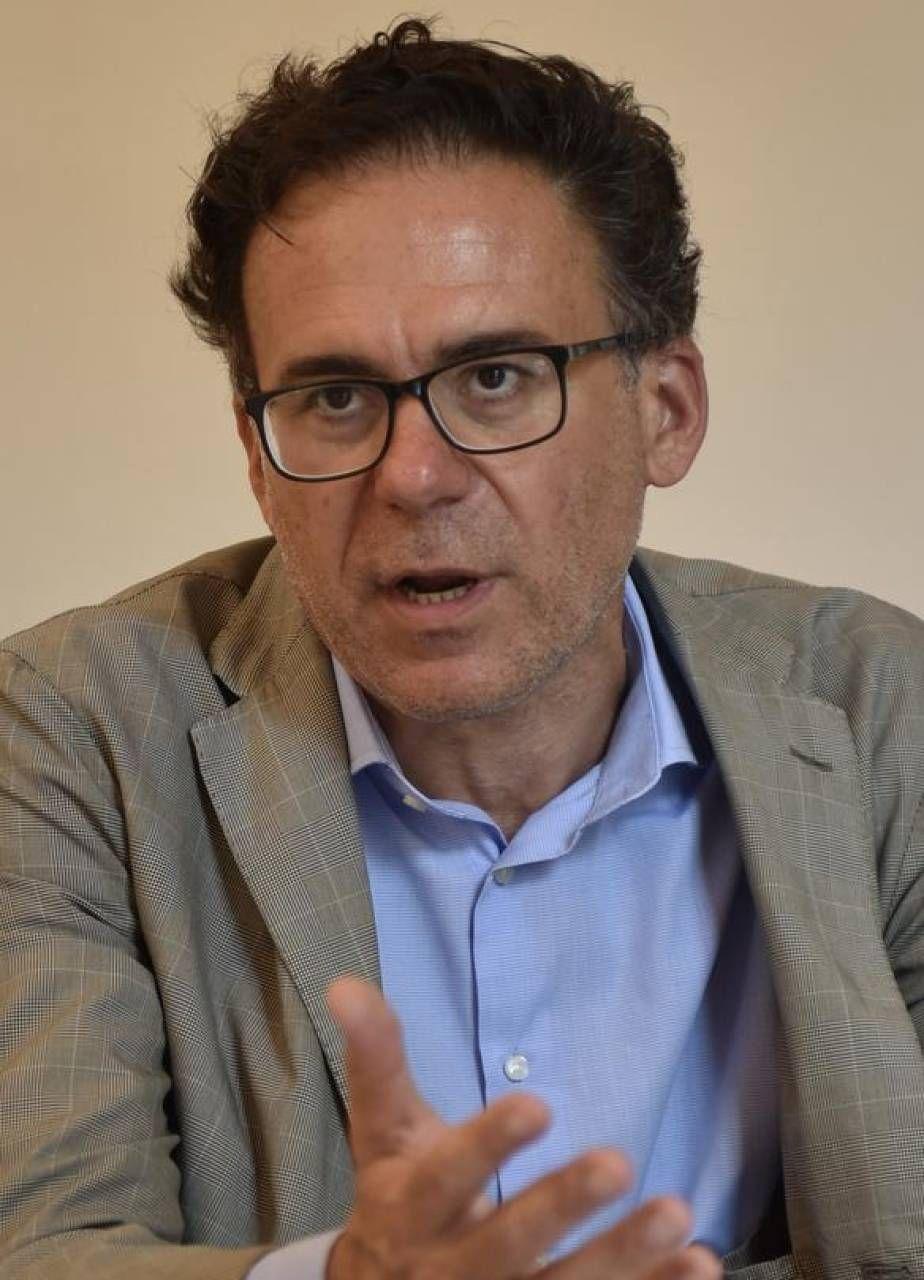 Il sindaco Michele Conti e il capogruppo Pd Ranieri Del Torto
