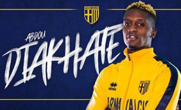 L'ex calciatore senegalese della primavera della Fiorentina qui ritratto con la maglia del Parma