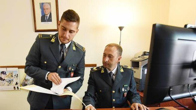 Guardia di Finanza (archivio Crocchioni)