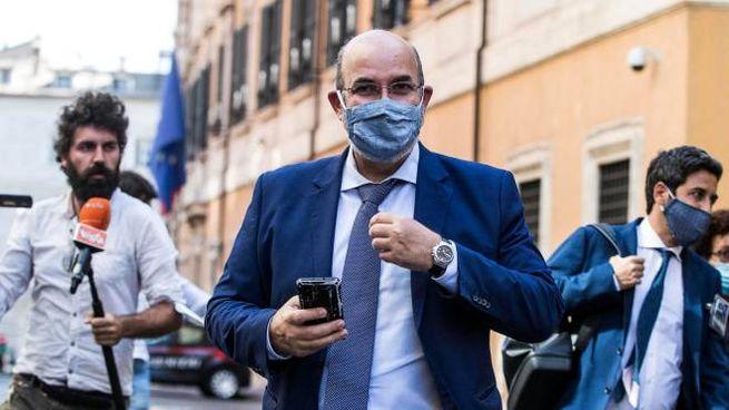 Vito Crimi, il capo politico M5S (Ansa)