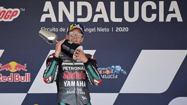 Quartararo vincitore della MotoGp di Andalusia (Ansa)