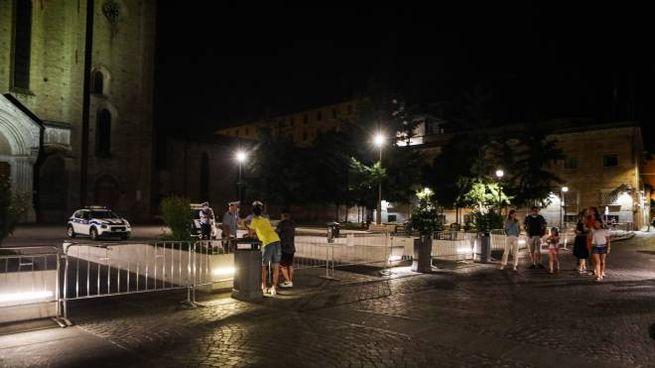 Bologna, Piazza San Francesco chiusa (FotoSchicchi)