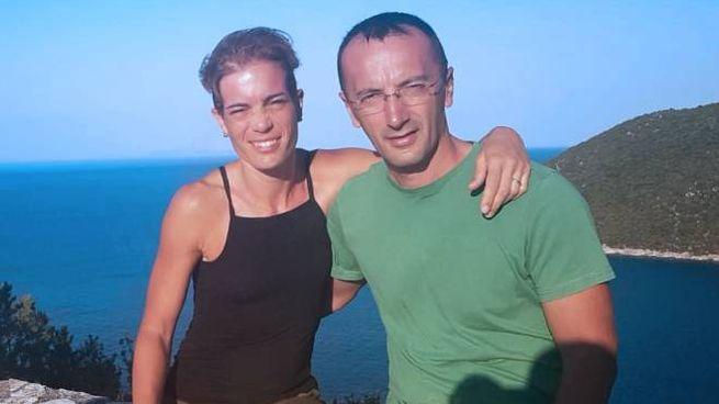 Marco Fiorini e la moglie Chiara Panicari