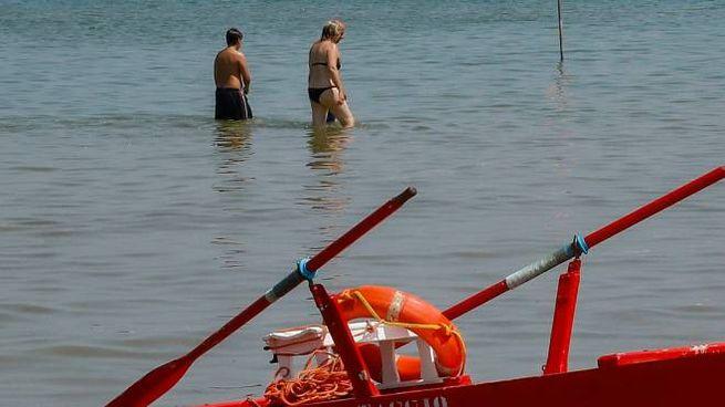 Il tratto di spiaggia in cui si è consumata la tragedia