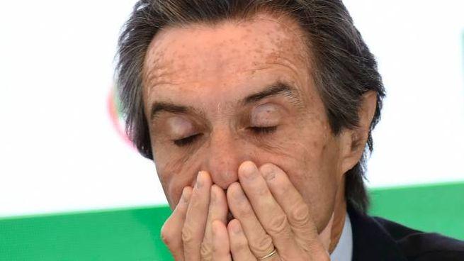 Il governatore leghista Attilio Fontana, 68 anni