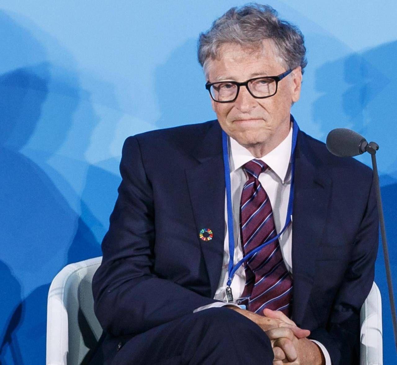 Il co-fondatore di Microsoft. Bill Gates ora è consulente tecnico della sua azienda