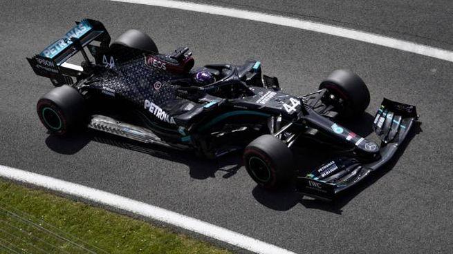 Lewis Hamilton a Silverstone (Ansa)
