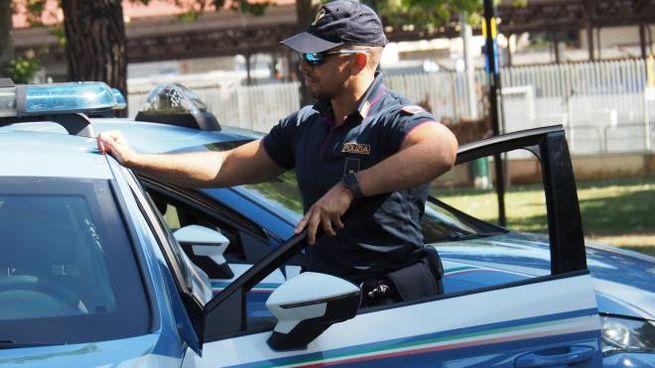 Poliziotto in una foto di repertorio