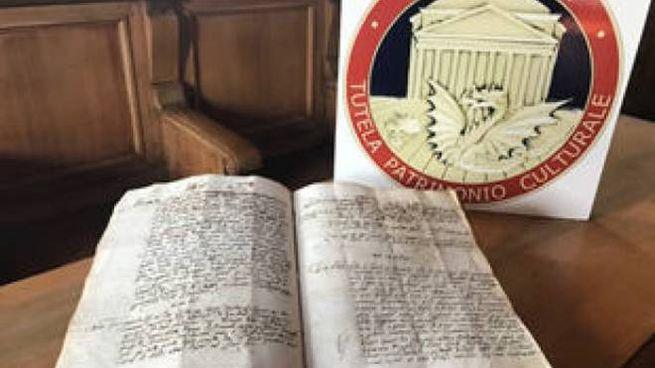 L'antico manoscritto ritrovato