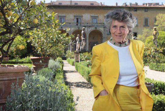 La principessa Giorgiana Corsini (Pressphoto)