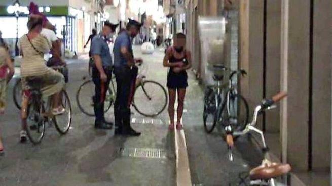 Il punto di via Branca in cui Tommaso Giunta è caduto dalla bici a causa del malore