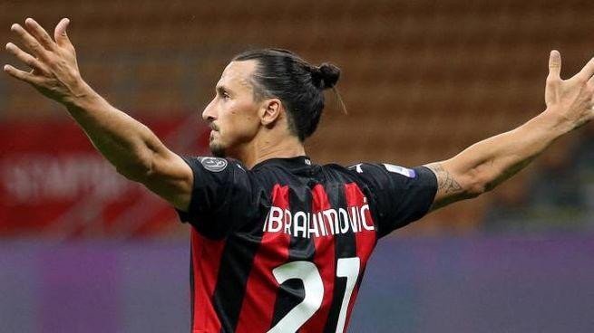 Milan-Cagliari 3-0, Ibrahimovic ancora a segno (Ansa)