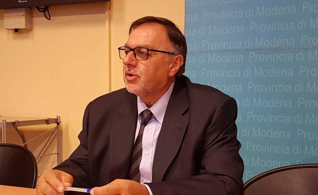 Il presidente della Provincia, Gian Domenico Tomei