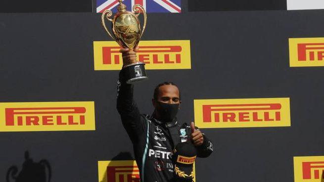 Hamilton vince il Gp di Gran Bretagna 2020 (Ansa)