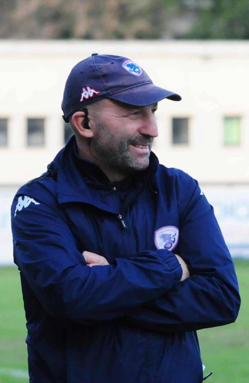 Il coach dei Bersaglieri, Umberto Casellato (Donzelli)