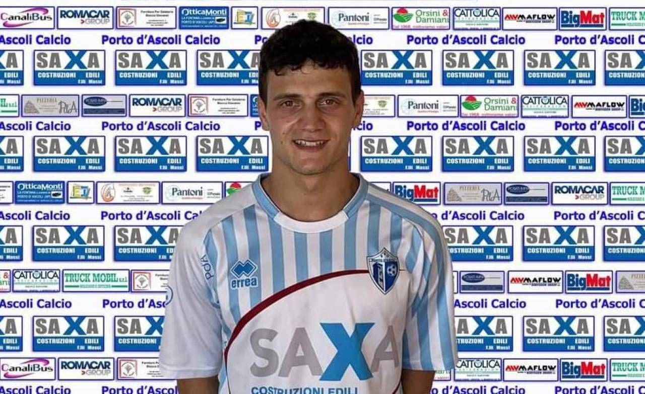 Daniele Orsini, il neo acquisto Porto d'Ascoli