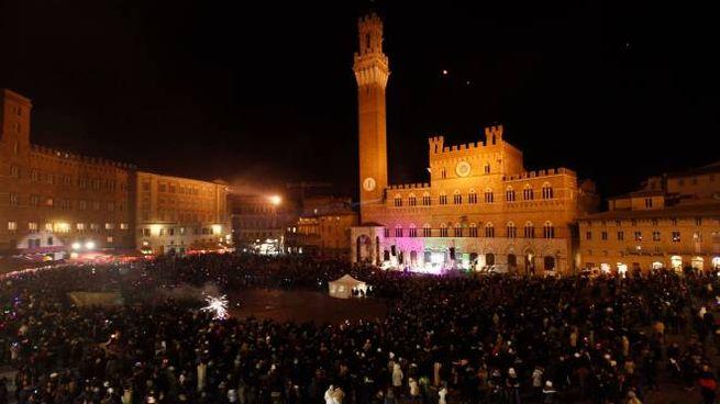 Capodanno in piazza del Campo a Siena (Lazzeroni)