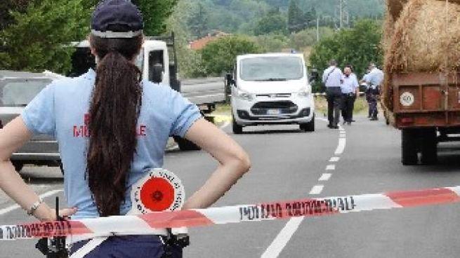 Il luogo del tragico incidente (Foto Castellani)