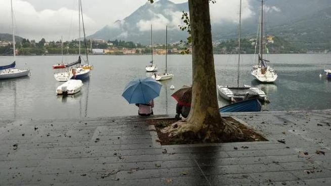Piove da ieri sera in tutto il Lecchese