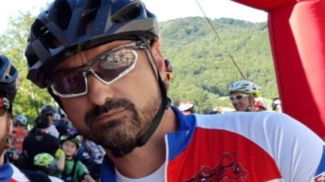 Nando Ricci, 45 anni, appassionato di bici
