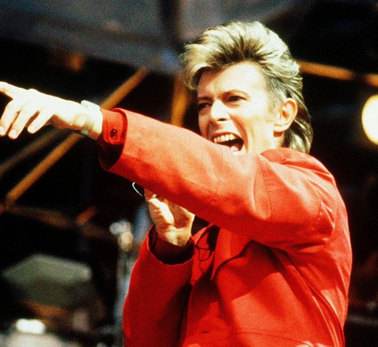 La musica di David Bowie con l'interpretazione di Andy, Andrea Fumagalli