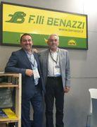 I fratelli Fabiano e Luciano Benazzi: l'impresa ha sede a Codigoro (Ferrara)