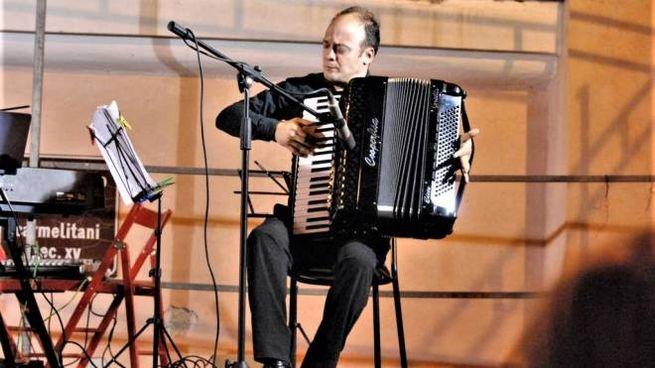 Il fisarmonicista Gianluca Campi