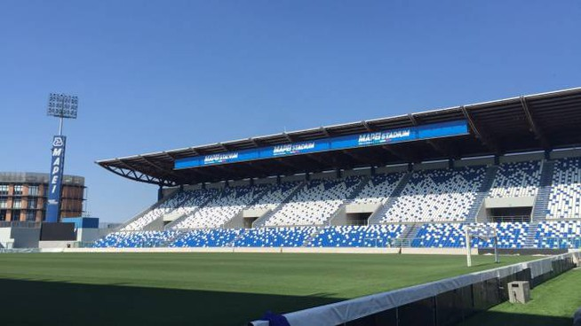 Un'immagine del Mapei Stadium, inaugurato a tempo di record nel 1995