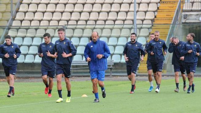 L'allenamento del Modena al Braglia (FotoFiocchi)