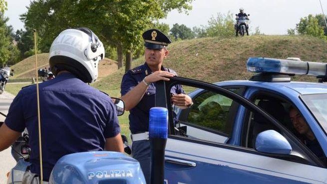 Modena, controlli della polizia (FotoFiocchi)